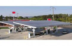 Solar Power Plant For Petrol Pump    by Veena Enterprises