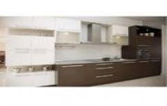 Straight Modular Kitchen by Century Enterprises