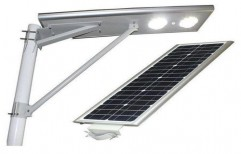 12W Solar LED Street Light by Saur Hub India Pvt Ltd