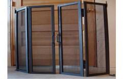Aluminium Mesh Door   by J. B. N. Glass & Aluminium