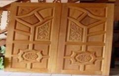 Solid Wood Door by Subashree Furniture