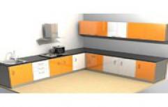 Simple Modular Kitchen by ArK Interior
