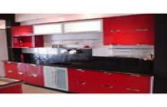 Straight Modular Kitchen by Doorbell Interio Enterprises