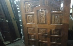 Teak Wood Doors by Famous Door