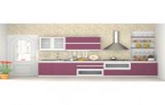 Laminated Modular Kitchen by Citiart Communication LLP