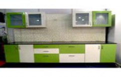 Modern Modular Kitchen by S S Decors