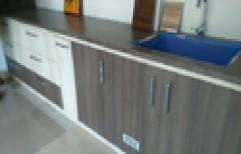 Modular kitchen by Doors & Frames
