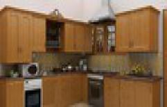 Modular Wooden Kitchen      by Beauty Interior