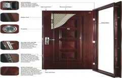 Smart Stainless Steel Security Door    by Shreeji Traders