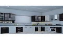 Stylish Modular Kitchen by Leben Style