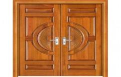 Wooden Door by Hemant Interiors (A Unit Of Hemant UPVC Doors & Windows)