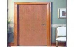 Hinged Coated Plain PVC Flush Doors