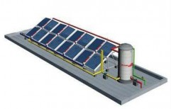 FPC & ETC Large Scale Solar Water Heating System   by Virat Technofab Private Limited
