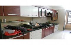 I Shape Modular Kitchen by Shree Nathji Steel Arts
