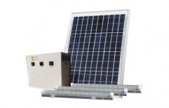 Outdoor Solar Lighting System by Abby Solutions