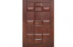Kaka PVC Membrane Door by Vishwakarma Woodtech Industries
