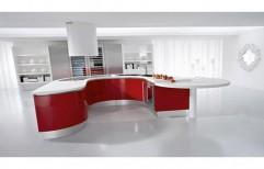 U-Shaped Modular Kitchen by DJ Group