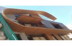 Brown Exterior Wooden Cladding