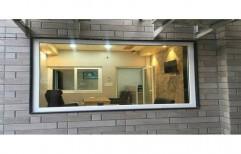 UPVC Fixed Window, Glass Thickness: 5 Mm