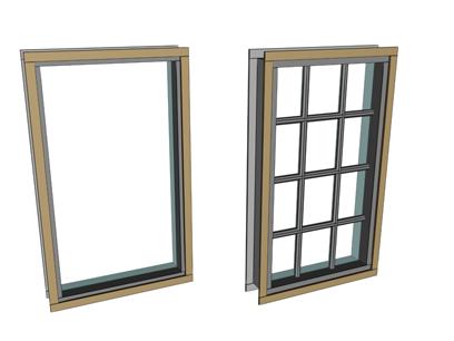 Fixed Windows by Pacific Europlast Pvt Ltd