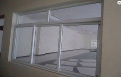 Three Track Sliding With Top Fixed Window  by Ascent UPVC