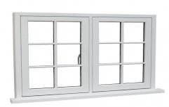 White UPVC Casement Window   by Unique Window World