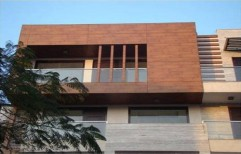 Exterior Hardwood Cladding     by Woodrap Corporation