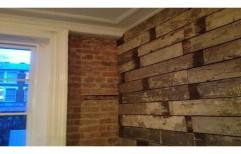 Brown Wood Wall Cladding