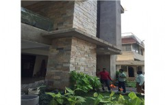 Building Exterior Wall Cladding by Kasper Kitchens And Floors