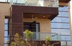 Exterior Facade Teak wood Cladding