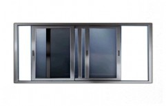 Sliding Center UPVC Fix Window  by Trimurti Trading