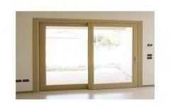 Wooden Sliding Window     by Kraftech Interior Decorators