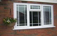 SBPL White Upvc French Casement Window, Glass Thickness: 5-20 Mm
