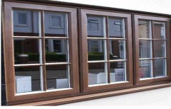 Pin UPVC Window, Thickness Of Glass: 10 To 30 Mm