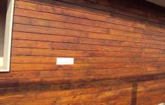 Brown Wood Shera Wall Cladding