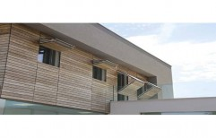 Exterior Wooden Wall Cladding by Sajj Decor