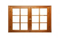 Wooden Window by Mothilora Industries