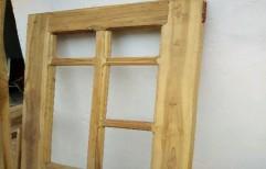 Wooden Window by A. K.