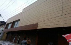 HPL Cladding by Aditya's Metal Gallery