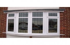 Timbe White UPVC Bay Window, 5 Mm, Rectangular