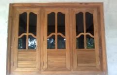 Wooden Window by Sunrise Kitchen & Interiors