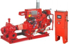 20-40 hp Mild Steel Fire Pump Motors, Speed: 2000-6000 RPM