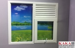 Standard White UPVC Casement Window, For Residential And Commercial, Thickness Of Glass: 5 Mm To 20 Mm Dgu
