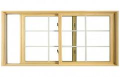 Wooden Sliding Window  by KK Enterprises