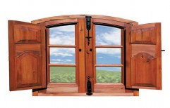 Wooden Window by Jay Chamunda Rolling Shutter
