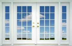 White Wooden Window