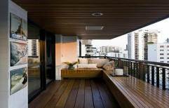 Balcony Wooden Cladding