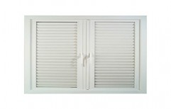 Fixed UPVC Louvers Window  by Dhabriya Polywood Limited