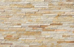 Stone Brown Mosaic Wall Cladding