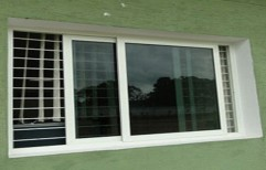 UPVC Style Metal Sliding Window       by Aacess Equipments